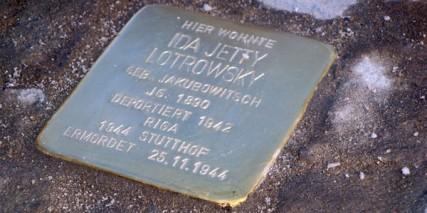 stolperstein ida jetty lotrowsky